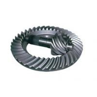 Best Tooth Profile Bevel Pinion And Crown Wheel , Gearbox Spiral Miter Gears For Meritor wholesale