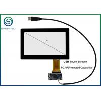 Best 7 Inch Capacitive Touch Panel Cover Glass To ITO Glass with USB Interface wholesale