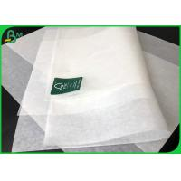China Biodegradable White Food Packaging Paper / Cake Wrap Paper Rolls 30 Gsm To 40 Gsm on sale