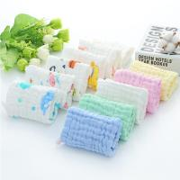 """Cheap MW-005 Muslin Burp Cloths Large 20"""" by 10"""" 100% Cotton 6 Layers Extra Absorbent and Soft for sale"""