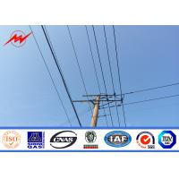 Best High Voltage Electrical Power Pole Telescoping Pole Customized Powdered Painting wholesale
