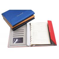 Cheap A5 8.5 inch PU cover high quality loose-leaf notebook loose spiral notebook with filler paper for sale