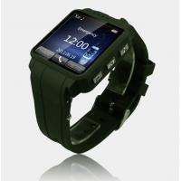 Best TW120G 1.54 Touch Screen Single Core 1.3MP GPS/SOS Multifunctional smart Phone Watch with wholesale
