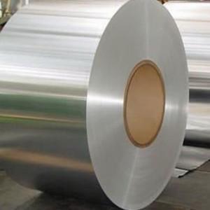 China Flat Aluminum Foil Alloy Non - Toxic Thick Aluminum Foil Sheets 1300mm Width on sale