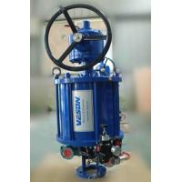 China Straight Stoke Linear Valve Actuator / Pneumatic Cylinder Valve Actuator StableOperation on sale