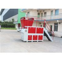 Best High Capacity Waste Shredder Machine , Industrial Plastic Shredder Automatic Reverse Sensors wholesale