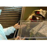 Best Food Baking Stainless Steel Mesh Tray For Vegetable Dehydration 10-15mm Hole Size wholesale