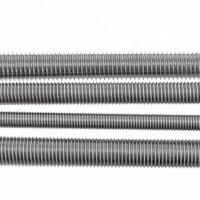 Best HDG Rolled Fully Threaded Rod DIN976 M12 Threaded Stainless Steel Bar wholesale
