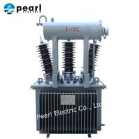 Best 33kV 50kVA Electric Power Transformer With Oil Tank Fully Sealed Type wholesale