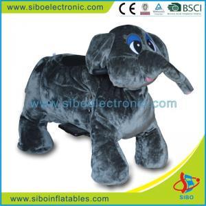 Best Walking Animal Mall Animal Rides Plush Zippy Toy Motorized Animals wholesale