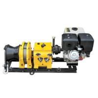 China HJM5B Gas powered Winch (Petrol engine or Diesel engine) on sale