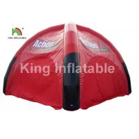China Airtight Black And Red Inflatable Event Tent For Advertising / Exhibition / Tourist on sale
