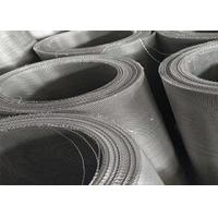China 24X110 Stainless Steel Woven Wire Mesh , 316 Marine Grade Stainless Steel Mesh on sale