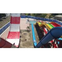 Buy cheap Fiber Glass Water Slide Games Adult Boomerango For Water Park from wholesalers
