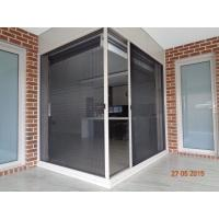 Best Alibaba top quality China supplier Plisse insect screen windows and doors for sale wholesale