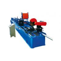 Best Drain Rain Round Downspout Roll Forming Machine 0.4 - 0.7mm Thickness With Elbow wholesale