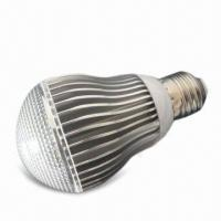 Best LED Bulb Light with 175 to 240V AC Voltage and E27 Lamp Cap, Measures 60 x 107mm wholesale