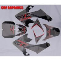 China Dirt bike sticker on sale