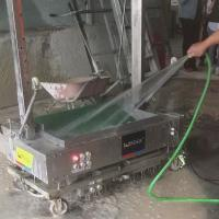 Buy cheap Waterproof Stainless Steel Wall Plastering Machine , Cement Lime Concrete Mortar from wholesalers
