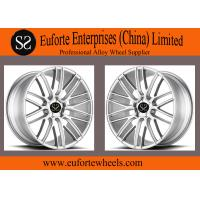 SS Wheels-Silver Gloss Black Machined Face Forged Wheels 8.5 to 12 Inch Width