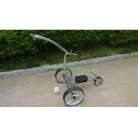 Buy cheap Noble 007R remote stainless steel golf trolley from wholesalers