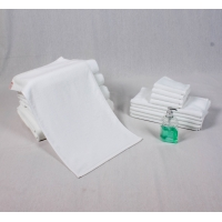 Best All Ages 80% Cotton White Towels wholesale