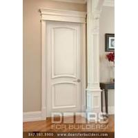 Best Good Ventilated Prehung Modern Wood MDF Interior Doors Thickness 5mm 6mm 9mm wholesale