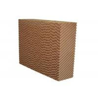 Best Brown Color Greenhouse Cooling Pad System With Aluminum Alloy Frame wholesale