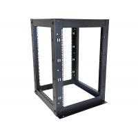 Cheap 16U 4 Post Network Equipment Rack Strong Steel Construction 610 x 610mm Size for sale