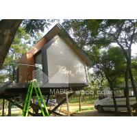 Best Flexible Layout Prefabricated Wooden Houses Wind Proof No Construction Waste wholesale