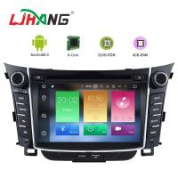 Best 7 Inch Touch Screen I30 Hyundai Car DVD Player Android 8.0 With BT WIFI wholesale