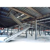 Buy cheap Heavy Pre Engineered Prefabricated Steel Stairs Earthquake Proof Energy Saving product