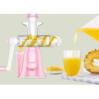 Best Household Manual Juice Maker Washable Hand Operate No Noise Easy Installation wholesale