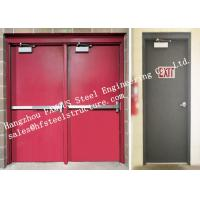 Best Residential Steel Fire Resistant Industrial Garage Doors With Remote Control wholesale