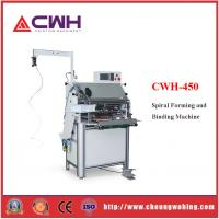 China Double Loop Wire Binding Machine  220V 300 KG Weight Accurate Parameter Reading on sale
