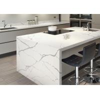 Best Modern Style Man Made Quartz Kitchen Countertops And Island Eased Edge wholesale