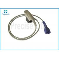 China DS-100A Nellcor SpO2 sensor Adult finger clip , SpO2 probe with TPU cable on sale