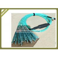 Best 3m / 5m / 10m Optical Patch Cord 1250 ~ 1650nm Wavelength With MPO - LC Connector wholesale