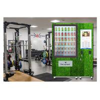 Best Public Salad Jar Vending Machine With Conveyor System For Gym University wholesale
