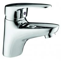 Buy cheap Brass Single Lever Basin Mixer Taps Lead-Free Chrome Plating for Wash Basin from wholesalers