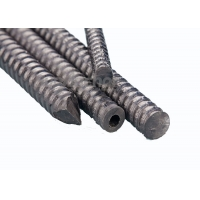China Tensile Load 220kN / 300kN Slope Stabilization Hollow 25mm GFRP Rock Bolts on sale