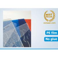 Best No adhesive protective film for polycarbonate sheet / static film for plastic sheet wholesale
