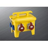 Best 64A 250 Volts Temporary Power Distribution Box High Strength Material wholesale