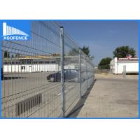 Ral7016 Wire Garden Fence Panels Rectangular With AKZO Nobel Powder