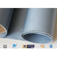 Best Grey Silicone Coated Fiberglass Fabric 7628 0.25mm For Electrical Insulation wholesale