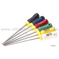 China Nickel Titanium Rotary Endo Files , Dental H File Endodontics For Endodontic Treatment on sale