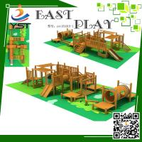 Best Security Wooden Playground Equipment Yst151015-1 Two Years Warranty wholesale