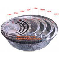 Best Rectangular disposable aluminum foil container for fast food, full-size deep steam aluminum foil container BAGEASE PACKA wholesale