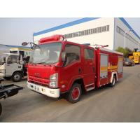 Best Water Tank Fire Brigade Truck ISUZU 3.5ton 4t 4000 Liters Water Fire Fighting Truck wholesale