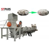 Best Large Capacity Plastic PP PE Film Washing Line Plant For Waste Films Recycling wholesale
